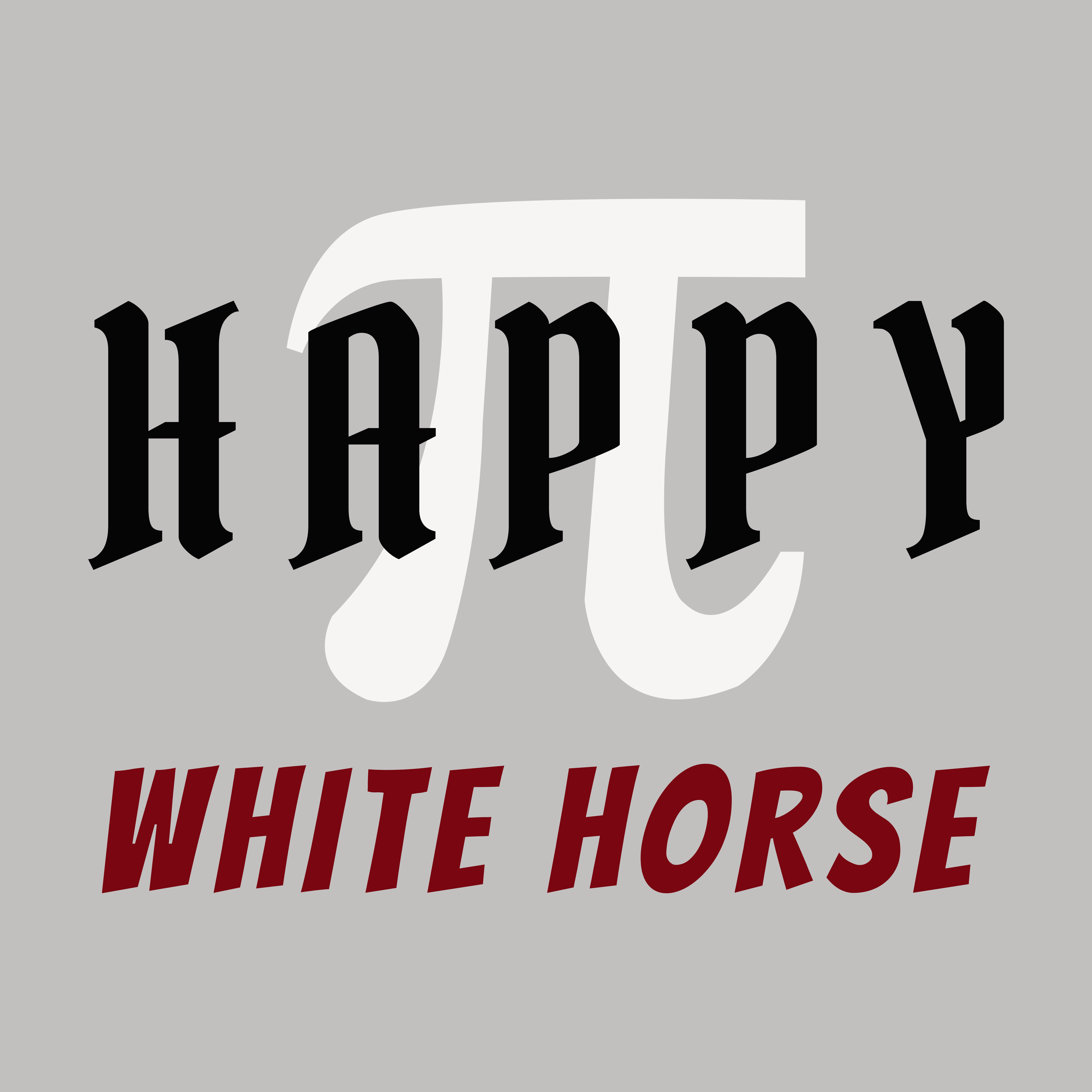 #6 HAPPY WHITE HORSE