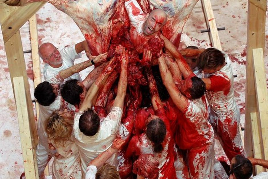 Slaughter Rituals Come From SatanWithin