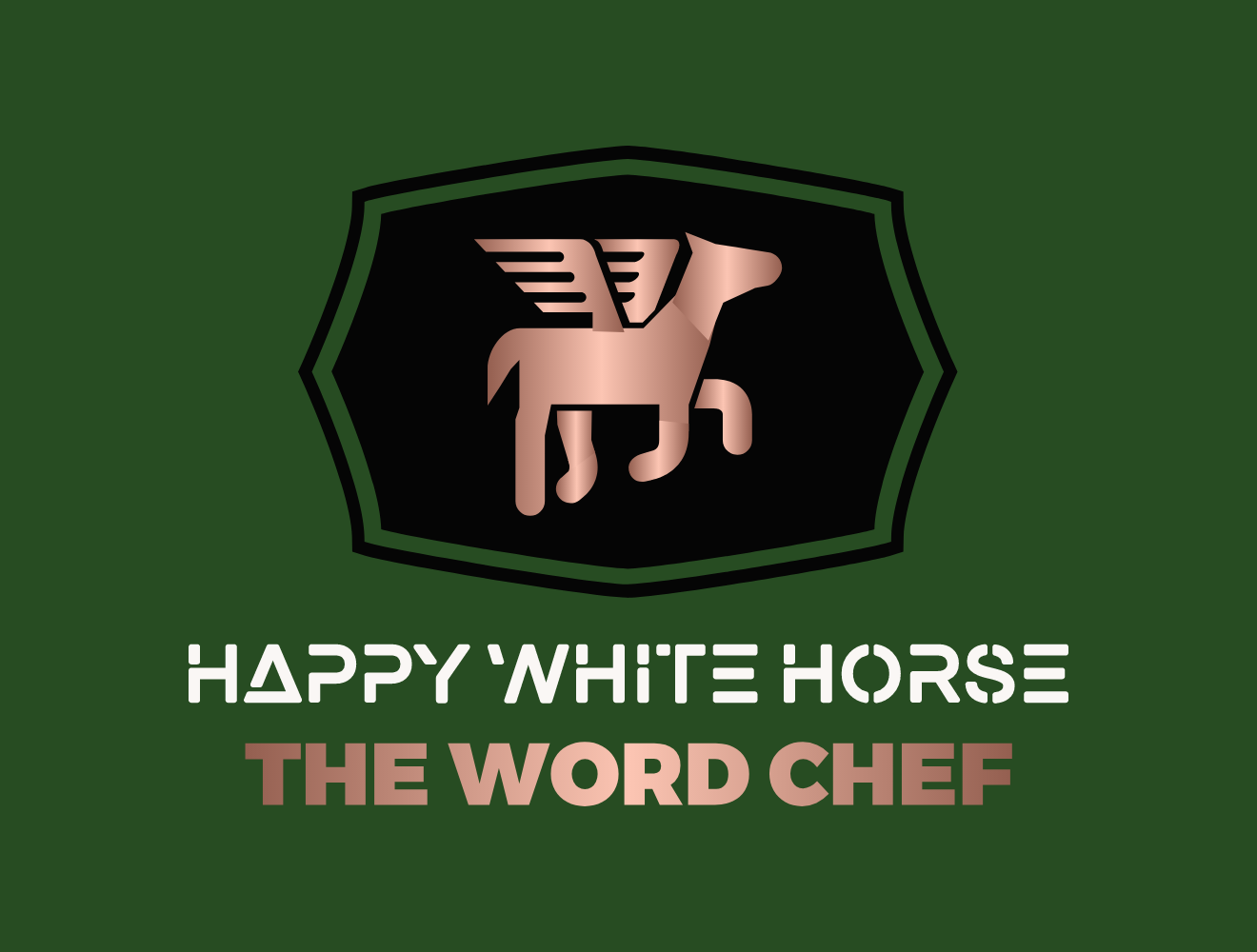 HAPPY WHITE HORSE